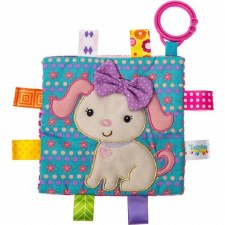 Taggies Crinkle Me Baby Toy- Sister Puppy
