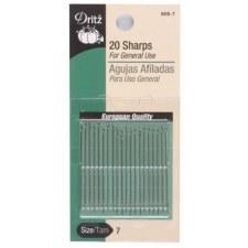 Dritz 20 Sharps - Size 7