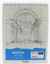 "Premiere 9x12"" Sketch Paper Pad, 100 Sheets"