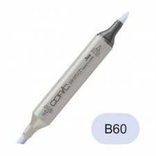 Copic Sketch Marker- B60 Pale Blue Gray