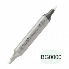 Copic Sketch Marker- BG0000 Snow Green