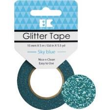 Best Creation Glitter Tape- Sky Blue