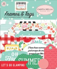 Summer Market Ephemera- Frames & Tags