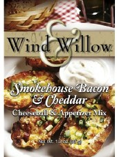Wind & Willow Cheeseball & Appetizer Mix- Smokehouse Bacon & Cheddar