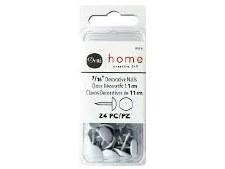 "Dritz Home Upholstery Tacks 7/16"" - White"