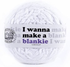 I Wanna Make a Blankie Yarn- Snow