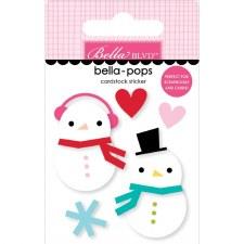 Fa La La Bella-Pops Stickers- Snow in Love