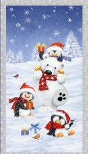 Christmas & Winter Panel- Snow What Fun