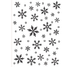 Darice Embossing Folder- Winter- Snowflakes