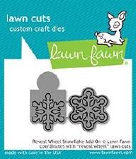 Lawn Fawn Reveal Wheel Add-On Craft Dies- Snowflake