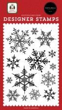 Home for Christmas Designer Stamps- Snowflake Season