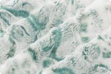 """Snowy Owl Cuddle Fleece, 60""""- Mallard"""