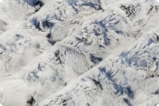 "Snowy Owl Cuddle Fleece, 60""- Navy"