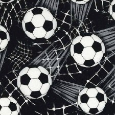 Score! Sports Bolted Fabric- Soccer Balls + Nets