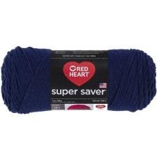Red Heart Super Saver Yarn- Soft Navy