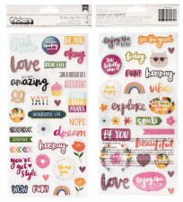 Amy Tangerine Slice of Life Stickers- Phrase Thickers
