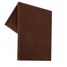 "Waffle Weave 20""x28"" Tea Towel- Brown"
