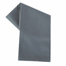 "Solid Weave 20""x28"" Tea Towel- Grey"