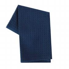 """Waffle Weave 20""""x28"""" Tea Towel- Navy"""