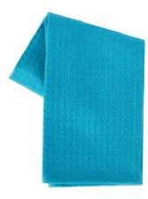 "Waffle Weave 20"" x 28"" Tea Towel- Turquoise"