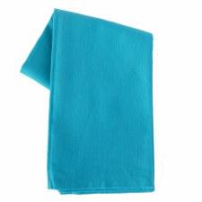 "Solid Weave 20""x28"" Tea Towel- Turquoise"