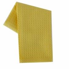 "Waffle Weave 20""x28"" Tea Towel- Yellow"