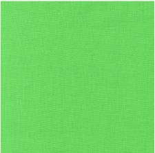 "Kona Cotton 44"" Fabric- Greens- Sour Apple"