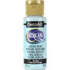 Americana Acrylic Paint, 2oz- Blues: Spa Blue