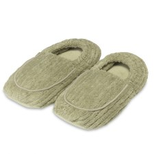 Warmies Spa Therapy Slippers- Spa Green