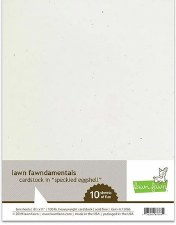 Lawn Fawn Cardstock Pack- Speckeld Eggshell