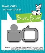 Lawn Fawn Reveal Wheel Add-On Craft Dies- Speech Bubble