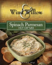 Wind & Willow Hot Dip Mix- Spinach Parmesan