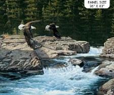 Nature & Wildlife Fabric Panel- Spirit of the Skies