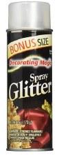 Decorating Magic Spray Glitter, 6oz- Opal