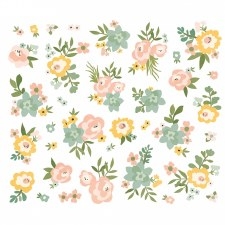 Spring Farmhouse Bits & Pieces Die Cuts- Floral