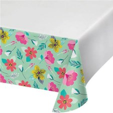 Modern Floral Tablecover