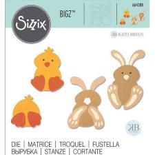 Sizzix Bigz Die- Spring Friends