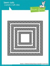 Lawn Fawn Stackable Squares Craft Dies- Outside In