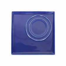 Square Platter - Blue