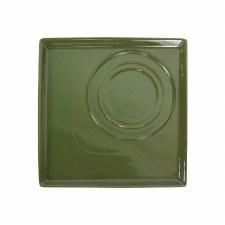 Square Platter - Green