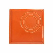 Square Platter - Orange