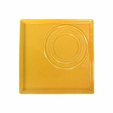 Square Platter - Yellow