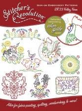Stitcher's Revolution Embroidery Transfer Pattern- Folksy Farm