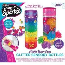 Cra-Z-Art Shimmer & Sparkle Craft Kit- Glitter Sensory Bottles