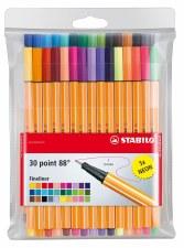 Stabilo 88 Wallet Set- 30 pens
