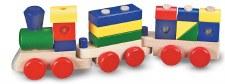 Melissa & Doug Wooden Toy Set- Stacking Train