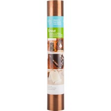 """Cricut Adhesive Foil, 12""""X48""""- Stainless Copper"""