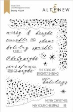 Altenew Starry Night Stamp Set