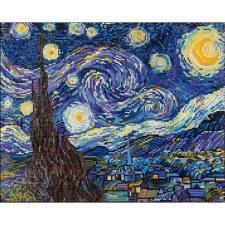 Diamond Facet Art Kit- Van Gogh's Starry Night