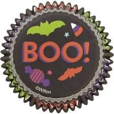Halloween Baking- Cupcake Liners: Boo, 75ct